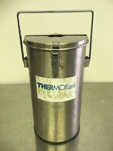 Thermolyne Thermo flask 2124 Benchtop Liquid Nitrogen Container 4 5l Pre owned