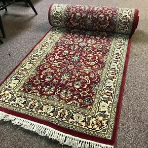 Long 18 3 By 2 7 Persian Cashan Pattern Runner