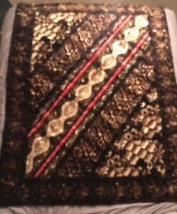 Antique Victorian Horse Buggy Carriage Sleigh Horse Hair Lap Blanket By Chase