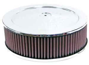 K N Filters 60 1040 Custom Air Cleaner Assembly