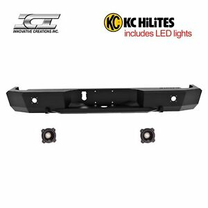 Rbm29dgn kc Magnum Off Road Rear Bumpers With Kc Hilites Led Reverse Lights Ici