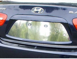 Lp27340 License Plate Bezel Fits 2007 2010 Hyundai Elantra 4dr