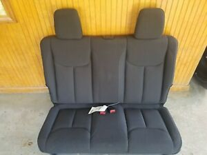 2007 2017 Jeep Wrangler Jk Rear Bench Seat In Black Cloth 2 Door Jeep Seats
