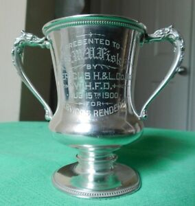 Reed Barton Sterling Silver Loving Trophy Cup 4 161 Grams 1900