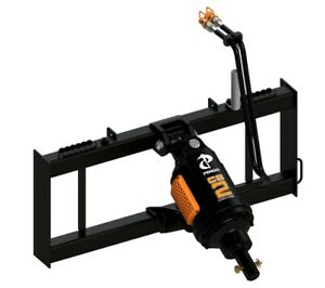 Pengo Cs 2 Drive And Mount Unit Auger Skid Steer Attachment