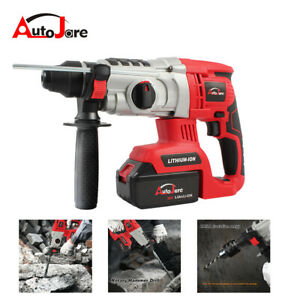 Autojare Sds Plus Rotary Hammer Rotary Hammer Drill Brushless W Battery New