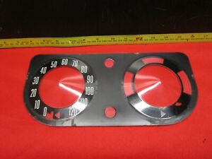 1968 1970 Amc Amx And Javelin Cluster Lens Dash Speedometer Lens Only