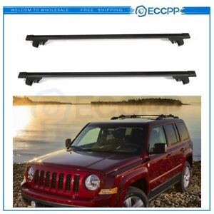 Fit For Jeep Patriot Heavy duty Steel Roof Rack 48 Cross Bars Cargo Carrier