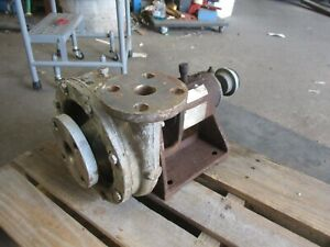 Worthington 1cng64 Stainless Pump 79324j Used
