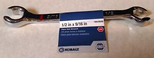 Kobalt 1 2 X 9 16 Open End Combo Flare Nut Wrench 516046 Free Shipping
