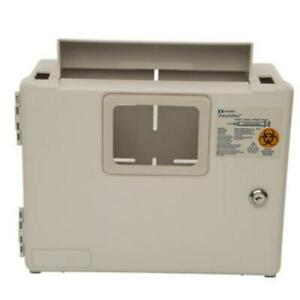 Qty 4 Covidien Sharpsafety Wall Enclosure For In Room Sharps Container 2 5 Quart