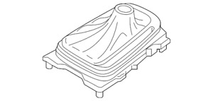 Genuine Ford Shift Boot E1gz 7d443 ca