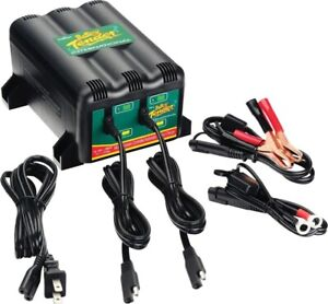 For 2 Bank Battery Tender Plus 022 0165 dl wh