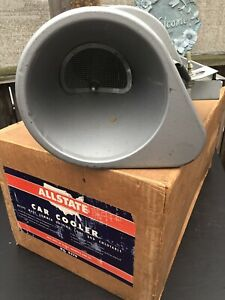 Vintage Allstate Sears Roebuck Co 8370 Swamp Cooler With Original Box