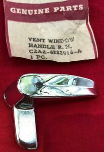 Nos 1960 1966 Ford Galaxie Fairlane Falcon Mustang Vent Window Handle R1017
