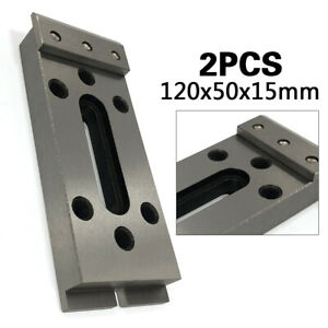 Clamping And Leveling Wire Edm Fixture Board Stainless Jig Tool 120x50x15mm Usa