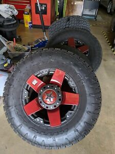 Jeep Rims And Tires Great Condition