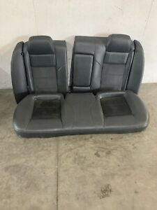 2006 2010 Dodge Charger Rt Black Leather Rear Bench Seats Oem