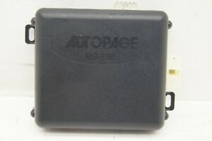 1998 Land Rover Range Rover Autopage Rs 850 Remote Car Security Alarm System Re