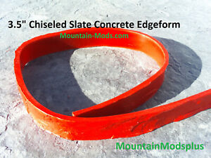 3 Concrete Cement Slate Stone Step Stair Pool Liner Edge Form Mold 3 5 X8ft New