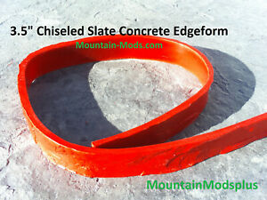 1 Concrete Cement Slate Stone Step Stair Pool Liner Edge Form Mold 3 5 X8ft New