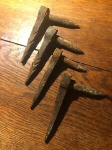 4 Antique Hand Forged Barn Door Strap Hinge Dogs 1800 S Colts Neck Nj