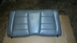 99 04 Mustang Convertible Opel Grey Leather Rear Seat Top Only Oem Gt Base