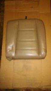 99 04 Ford Mustang Parchment Tan Leather Rear Back Seat Upper Cushion Left Lh