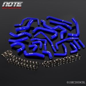 Silicone Ancillary Hose Kit Fit For Toyota Mr2 Turbo 2 0l 3sgte Rev2 Lhd 1991