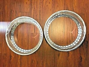 18x4 5 Reverse Outerlip 40 Hole Chrome Work Vsxx Vskf Equip Racing Hart M1 Vs Xx