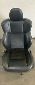 2006 2010 Dodge Charger Rt Front Driver Seat Leather Power Control Black Oem