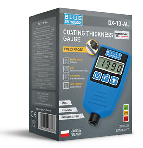 Paint Coating Thickness Gauge For Cars Dx 13 Al Fe Al From Producer Made In Eu