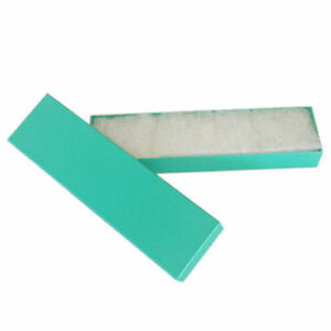 Us Seller sale Lot Of 50 Pcs 8 x2 x1 Teal Green Cotton Filled Jewelry Boxes