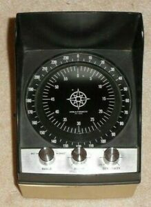 Heathkit MI-1031 Boat Deluxe Depth Sounder / Flasher Depth Finder / Fish Finder