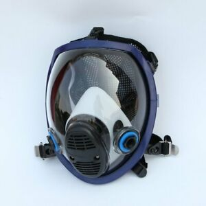 Full Face Chemical Mask Anti gas Mask Acid Dust Respirator Paint Filter Mask Sq