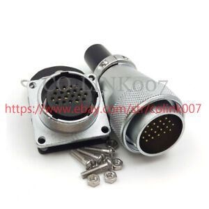Weipu 20pin Power Connector ws28 High Voltage Industrial Power Cable Plug Socket