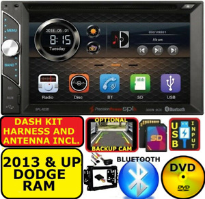 2013 Up Ram Bluetooth Touchscreen Cd dvd Usb Aux Sd Car Radio Stereo Package