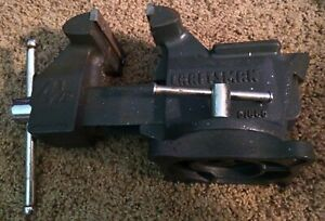 Vintage Craftsman 51865 Swivel Bench Vise 4 1 2 Inch Jaws Made In Usa