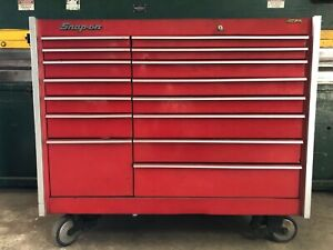 Kr1000 Snap on Toolbox With 15 Drawers In Great Condition With Tools