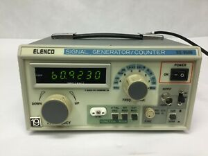 Elenco Sg 9500 Wide Band 6 Ranges 100khz To 450mhz Rf Signal Generator Counter