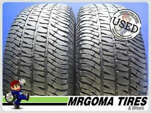 2 Michelin Ltx A T 2 Dt 275 65 18 Used Tires 8 7 32 Left 114t 2756518