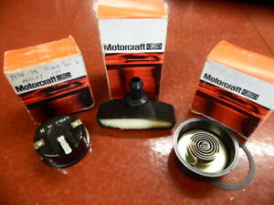 1970 S Ford Motorcraft Choke Housing Filter 3 Pc Parts Lot Nos