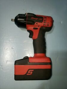 Snap On Ct8810a 3 8 18 Volt Red Cordless Impact With 1 Battery