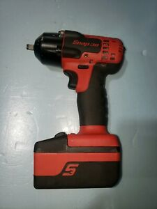 Snap On Ct8810a 3 8 18 Volt Red Cordless Impact Plus 1 Battery