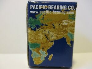 Pacific Bearing Linear Bearing Fl08 Red 1 2
