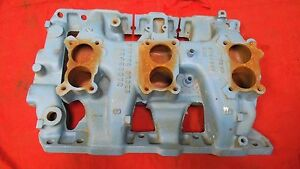 Pontiac Tri Power Intake Manifold In Stock, Ready To Ship
