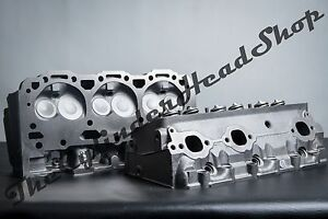 Pair Of 4 3 Gm Chevy 140 772 Cylinder Heads V 6 Vortec 1996 2001 262ci