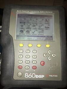 Trilithic 860 Dspi Triple Play Cable Meter Docsis 3 0 1 Ghz