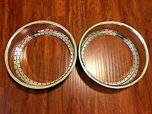 2 18x5 Work Aftermarket Replacement Lips Polish 40 Hole Vsxx Vskf Equip