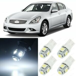 15 X Xenon White Interior Led Lights Package For 2008 2013 Infiniti G37 Tool
